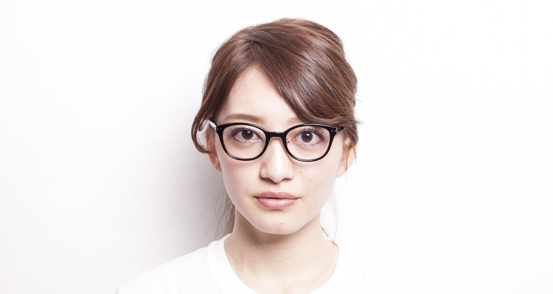 プラスオーエムジー アニー OMG-003-1 [黒縁/丸メガネ/安い]  6