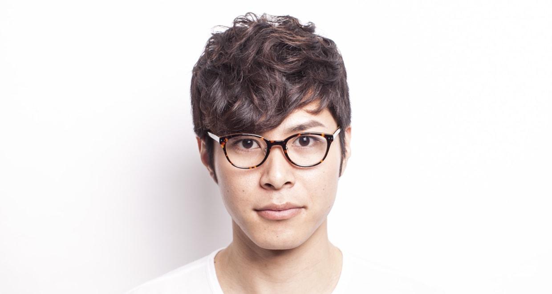 プラスオーエムジー アニー OMG-003-4 [丸メガネ/安い/べっ甲柄]  4