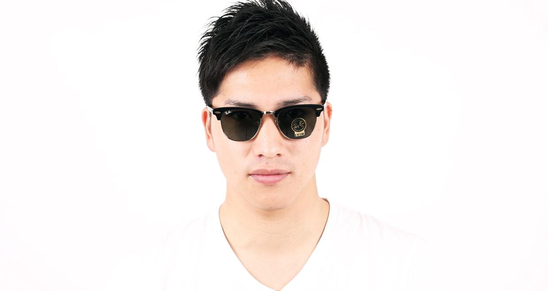 クラブマスター クラシック(CLUBMASTER CLASSIC) レイバン CLUBMASTER CLASSIC RB3016-W0365-49 [ウェリントン]  メガネのオーマイグラス 5