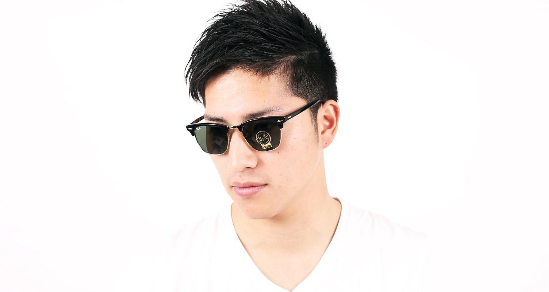 クラブマスター クラシック(CLUBMASTER CLASSIC) レイバン CLUBMASTER CLASSIC RB3016-W0365-49 [ウェリントン]  メガネのオーマイグラス 6