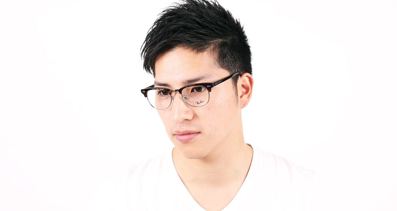 クラブマスター(CLUBMASTER) レイバン CLUBMASTER RX5154-2012-49 [メタル/ウェリントン/べっ甲柄]  メガネのオーマイグラス 9