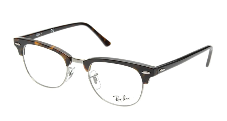 クラブマスター(CLUBMASTER) レイバン CLUBMASTER RX5154-2012-49 [メタル/ウェリントン/べっ甲柄]  メガネのオーマイグラス