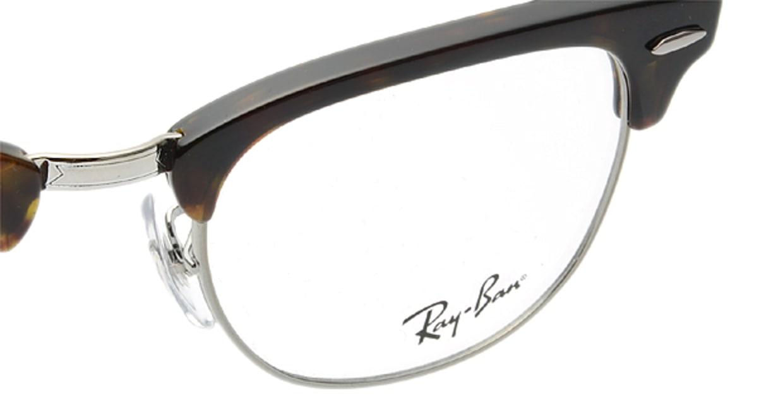 クラブマスター(CLUBMASTER) レイバン CLUBMASTER RX5154-2012-49 [メタル/ウェリントン/べっ甲柄]  メガネのオーマイグラス 4