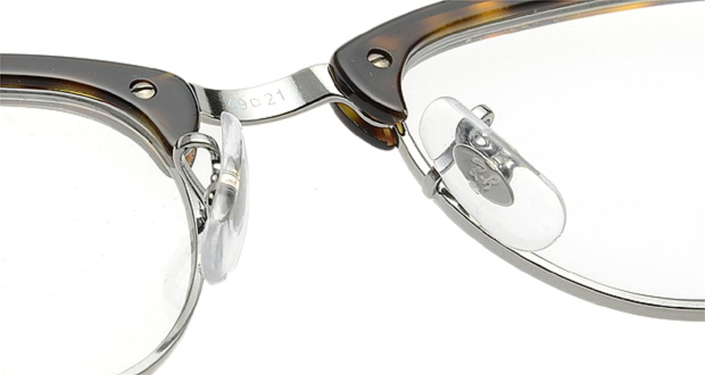 クラブマスター(CLUBMASTER) レイバン CLUBMASTER RX5154-2012-49 [メタル/ウェリントン/べっ甲柄]  メガネのオーマイグラス 5
