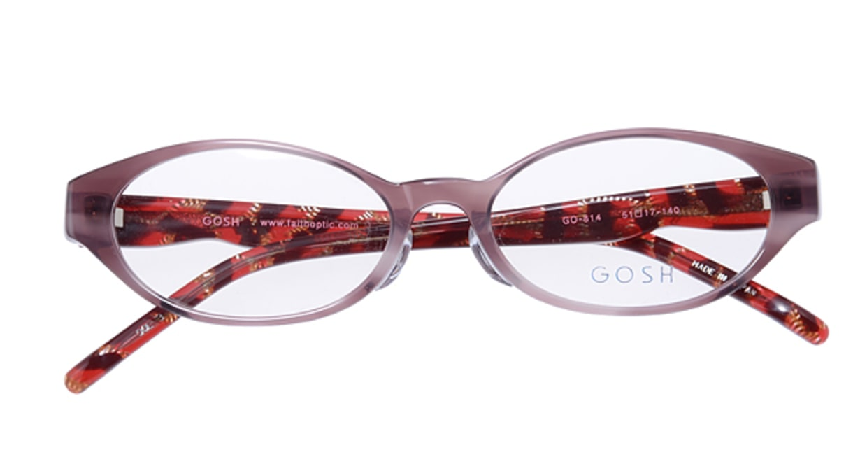 ゴッシュ GO-814-3 [オーバル/紫]  3