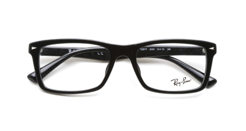 レイバン RX5287F-2000-54 [黒縁/ウェリントン]  3