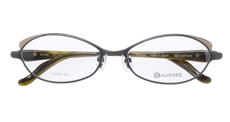 アミパリ TP930-7 [メタル/オーバル/緑]  3