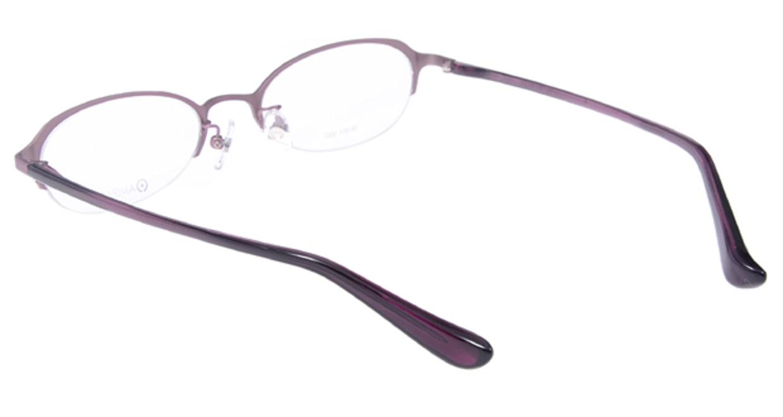 アミパリ TP951-23 [メタル/ハーフリム/オーバル/紫]  2