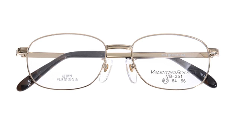 家メガネ VB351-1-52 [メタル/オーバル/安い/ゴールド]  3