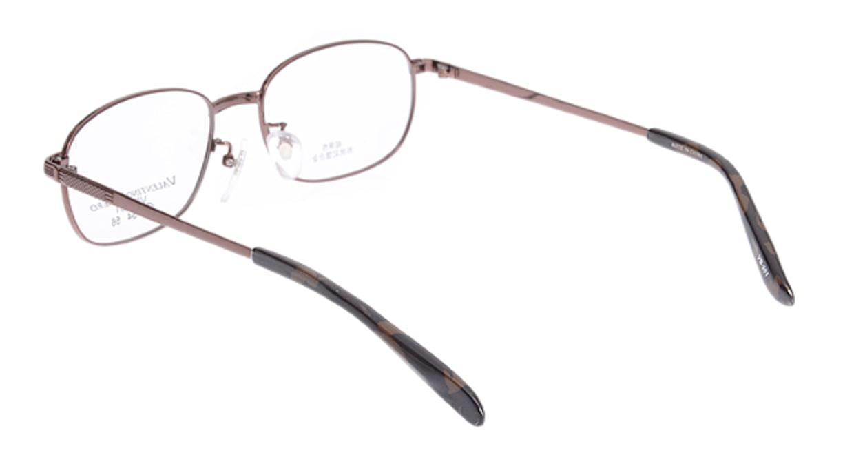 家メガネ VB351-2-52 [メタル/ウェリントン/安い/茶色]  2