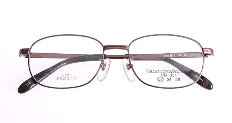 家メガネ VB351-2-52 [メタル/ウェリントン/安い/茶色]  3