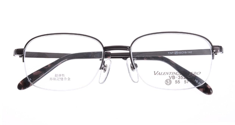 家メガネ VB352-3-53 [メタル/ハーフリム/スクエア/安い/グレー]  3