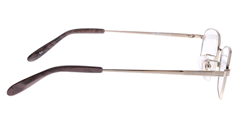家メガネ VB355-1-52 [メタル/スクエア/安い/ゴールド]  1