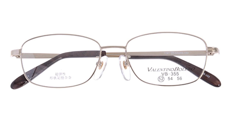 家メガネ VB355-1-52 [メタル/スクエア/安い/ゴールド]  3