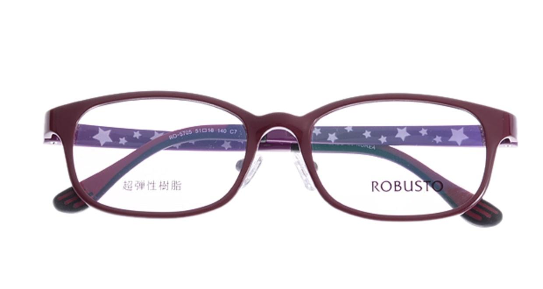 ロブスト RO5705-c-7 [スクエア/安い/赤]  3