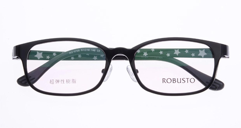 ロブスト RO5705-c-8 [黒縁/ウェリントン/安い]  3