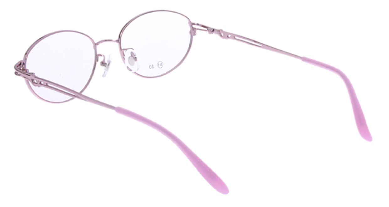 家メガネ RLH2024-2-51 [メタル/オーバル/安い/ピンク]  2