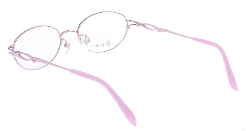 家メガネ RLH3101-2-52 [メタル/オーバル/安い/ピンク]  2