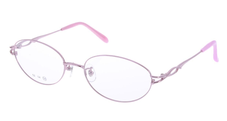 家メガネ RLH3101-2-56 [メタル/オーバル/安い/ピンク]