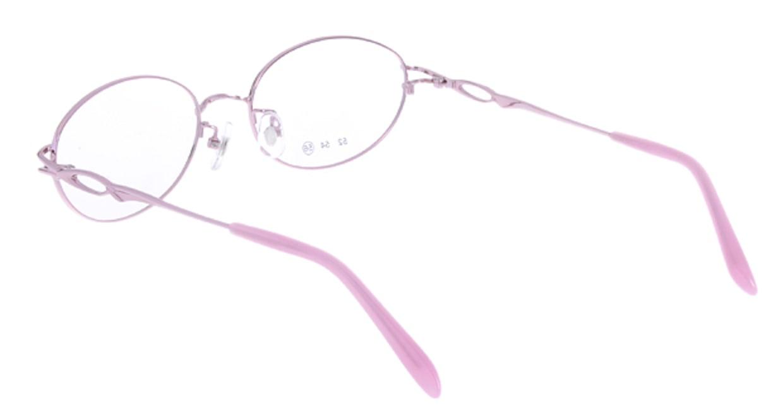 家メガネ RLH3101-2-56 [メタル/オーバル/安い/ピンク]  2