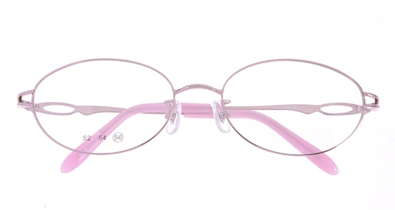 家メガネ RLH3101-2-56 [メタル/オーバル/安い/ピンク]  3