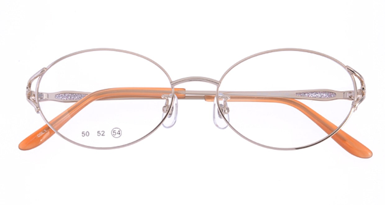 家メガネ 50-001-1-54 [メタル/オーバル/安い/ゴールド]  3