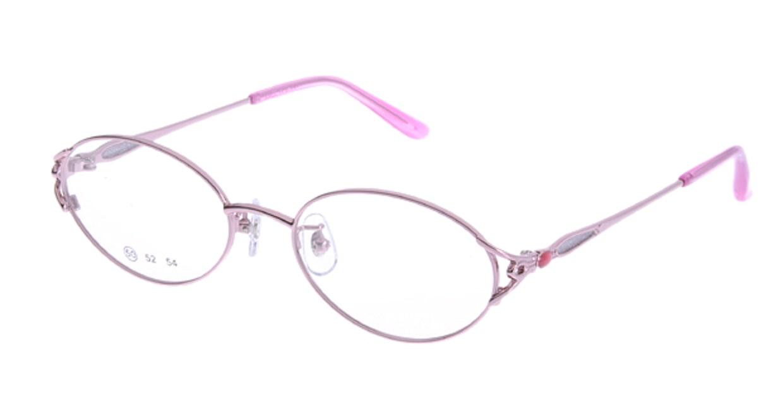 家メガネ 50-001-2-50 [メタル/オーバル/安い/ピンク]