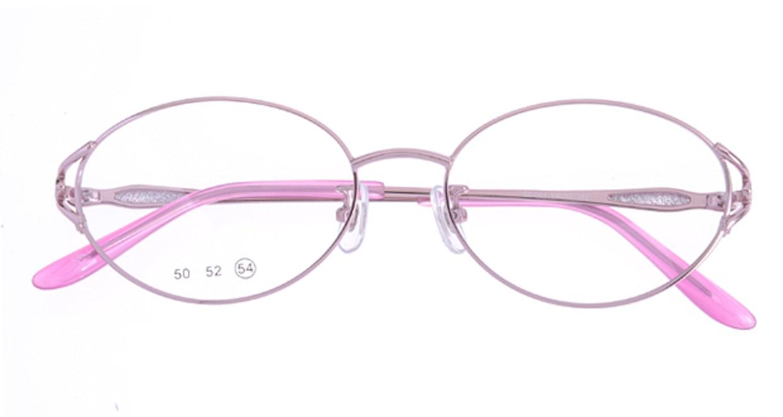 家メガネ 50-001-2-54 [メタル/オーバル/安い/ピンク]  3
