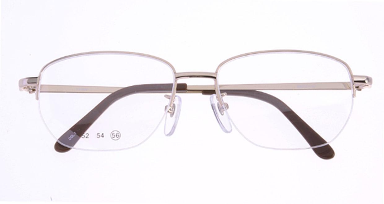 家メガネ 10-008-1-56 [メタル/ハーフリム/スクエア/安い/ゴールド]  3
