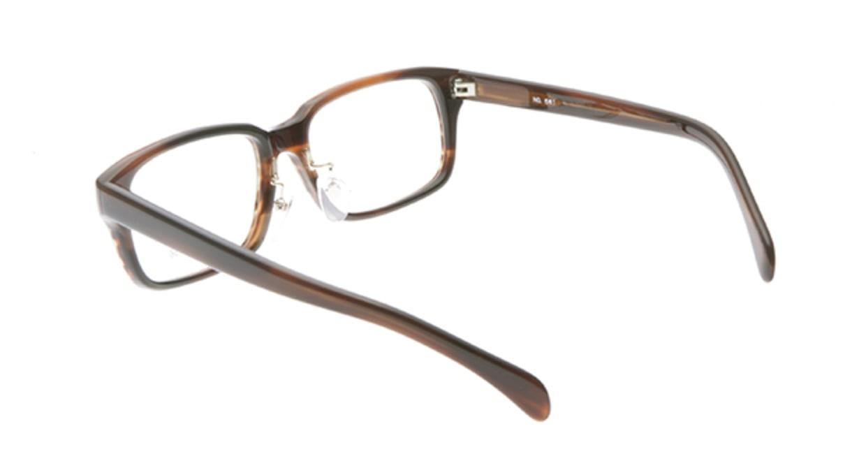 ブイオーシー NO561-brown-52 [スクエア/べっ甲柄]  2