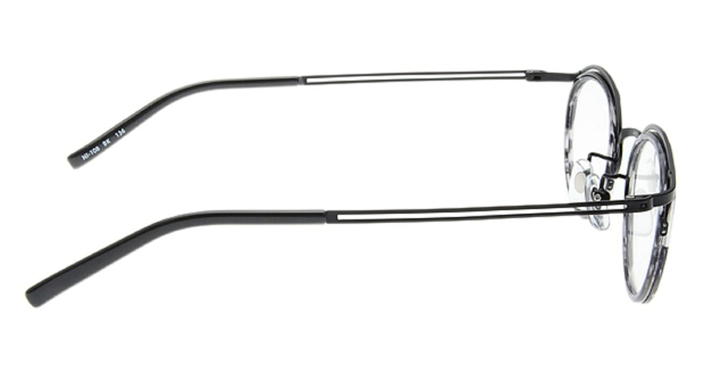 ナチュラルイノベーションNI108-BK-45 [メタル/丸メガネ]  1