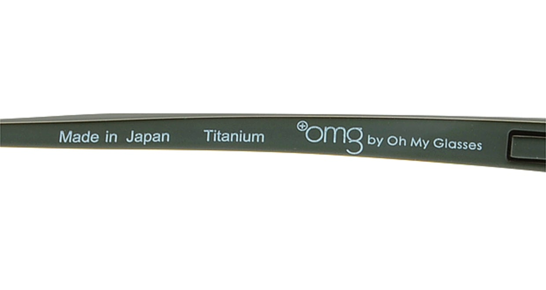 プラスオーエムジー ビジネス トレバー omg-011-1 [メタル/ハーフリム/スクエア/緑]  6