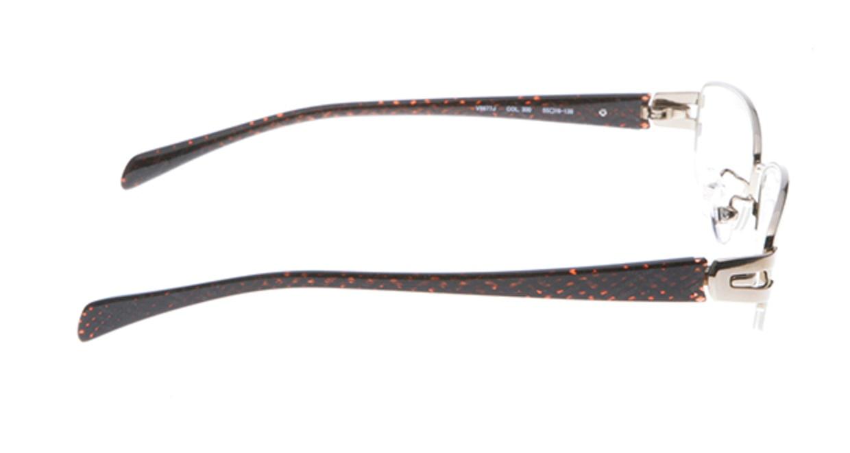 ポリス V-8835J-300-52 [メタル/スクエア/茶色]  1