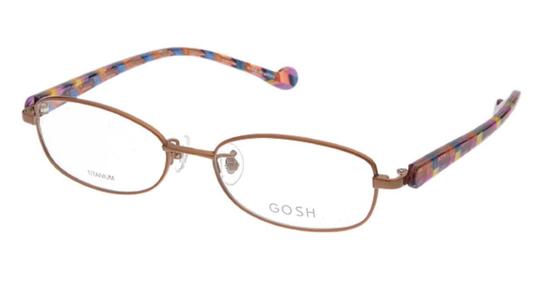 ゴッシュ GO-583-2 [メタル/スクエア/茶色]