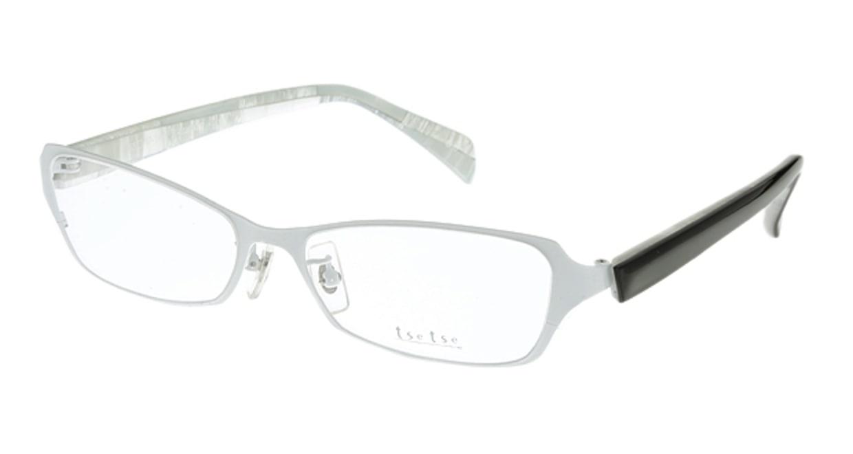 ツェツェ T2301-3 [メタル/スクエア/白]
