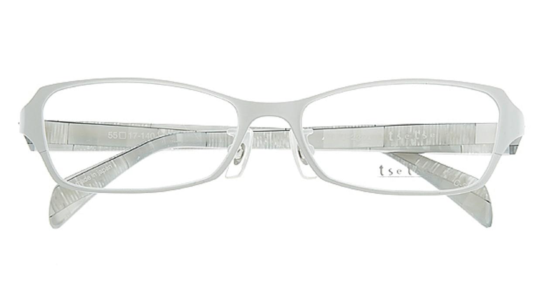 ツェツェ T2301-3 [メタル/スクエア/白]  3