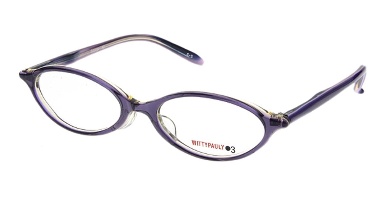ウィッティポーリー03 03-112-5 [オーバル/紫]