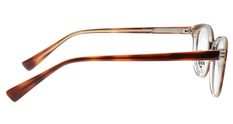 プラスオーエムジー ベース ティム omg-021-5 [丸メガネ/安い/茶色]  1