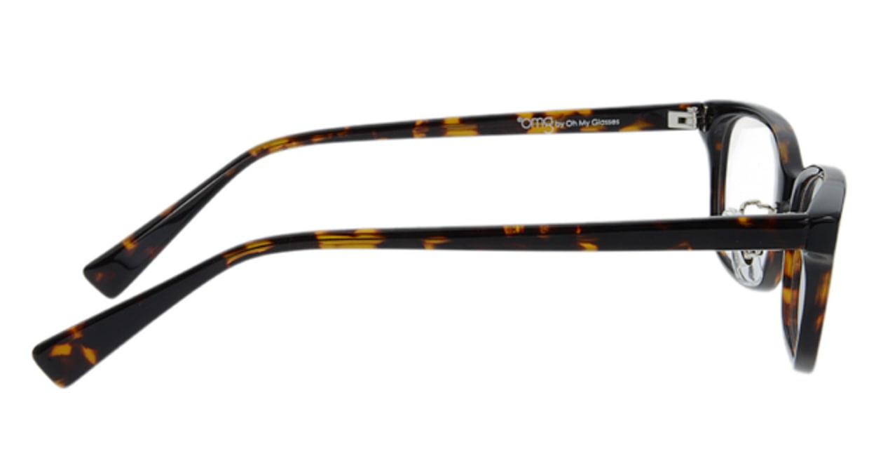 プラスオーエムジー ベース メグ omg-022-1 [黒縁/ウェリントン/安い]  1