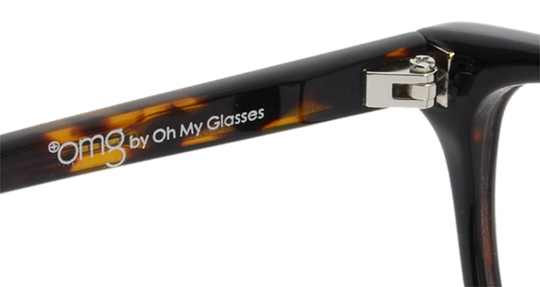 プラスオーエムジー ベース メグ omg-022-1 [黒縁/ウェリントン/安い]  6