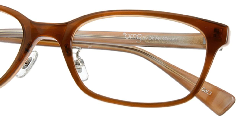 プラスオーエムジー ベース メグ omg-022-3 [ウェリントン/安い/茶色]  4