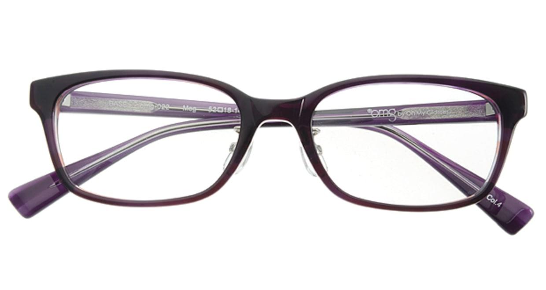 プラスオーエムジー ベース メグ omg-022-4 [ウェリントン/安い/紫]  3