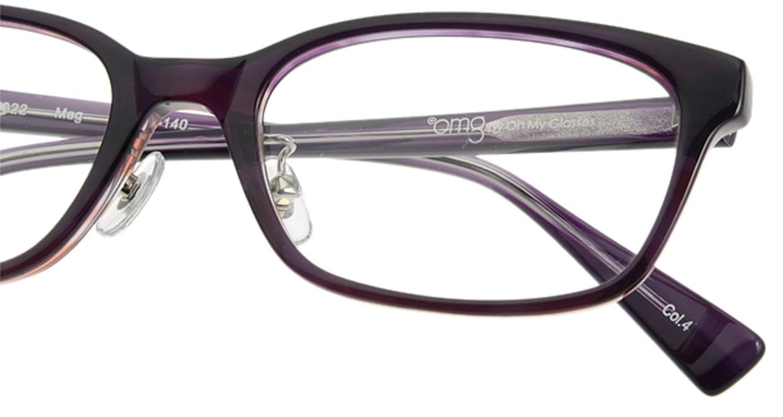 プラスオーエムジー ベース メグ omg-022-4 [ウェリントン/安い/紫]  4