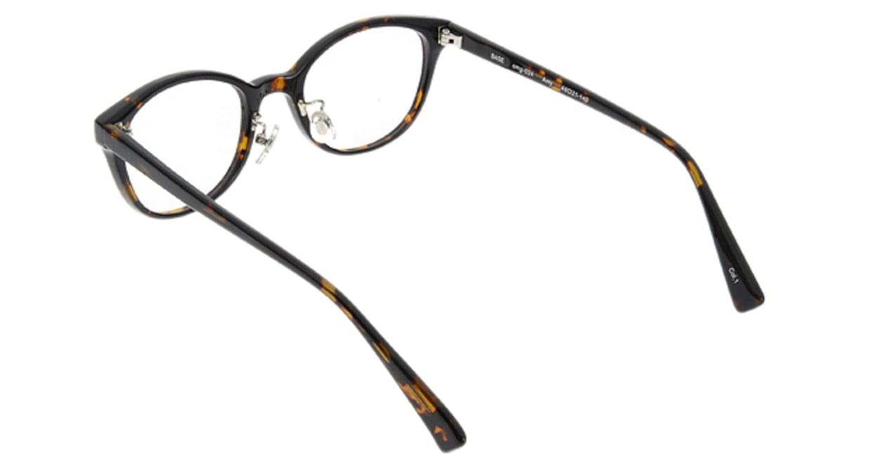 プラスオーエムジー ベース エイミー omg-024-1 [丸メガネ/安い/茶色]  2