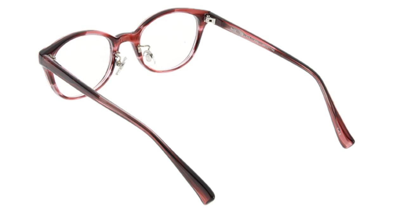 プラスオーエムジー ベース エイミー omg-024-2 [丸メガネ/安い/赤]  2