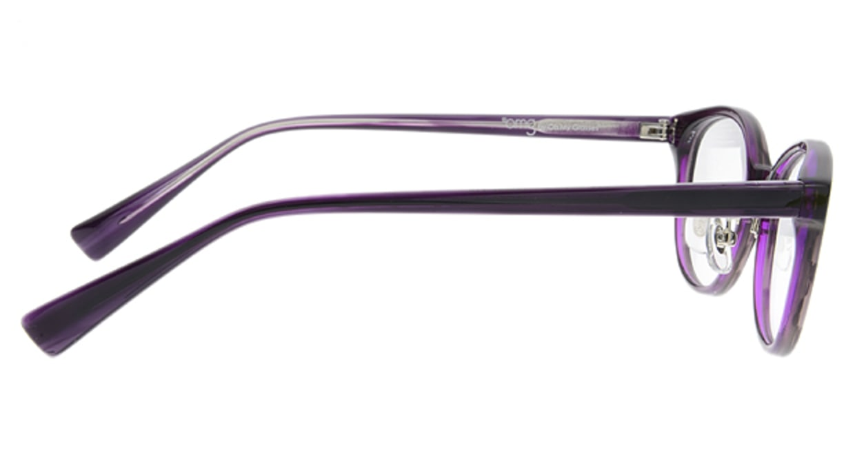 プラスオーエムジー ベース エイミー omg-024-4 [丸メガネ/安い/紫]  1