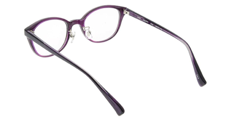 プラスオーエムジー ベース エイミー omg-024-4 [丸メガネ/安い/紫]  2