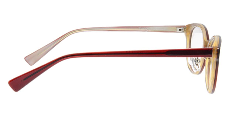 プラスオーエムジー ベース エイミー omg-024-5 [丸メガネ/安い/赤]  1