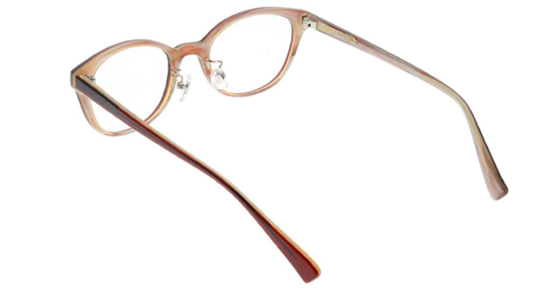 プラスオーエムジー ベース エイミー omg-024-5 [丸メガネ/安い/赤]  2