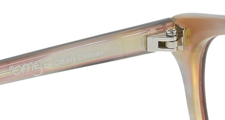 プラスオーエムジー ベース エイミー omg-024-5 [丸メガネ/安い/赤]  6